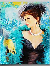 Peint à la main Nu Un Panneau Toile Peinture à l'huile Hang-peint For Décoration d'intérieur