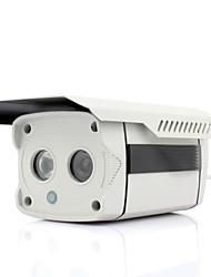 600TVL 1/3 CCD 2 IR LEDs Security CCTV 6MM Outdoor Surveillance Camera