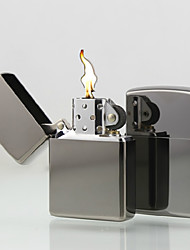 Personalized Engraved Silver Oil Lighter