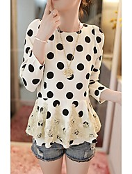 YKE Black Dots Bodycon Dress