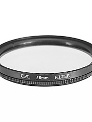 CPL Filter for Camera (58mm)
