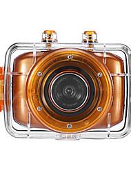 HD720P-F5O Mini Aktion Camcorder (Orange)