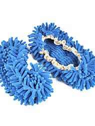 Fashion Solid Color Wolle Frauen Slide Slipper - 3 Farben Verfügbare