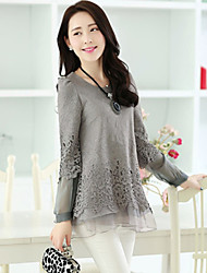 Women's Casual Shirts , Organic Cotton Casual YKR