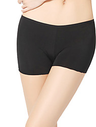 Dancewear Women's Simple Viscose Solid Color Undergarments