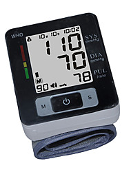 Blood Pressure Monitor version anglaise du poignet (Blanc)