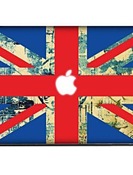 La Union Jack decorativos etiqueta piel Set para MacBook Air / Pro