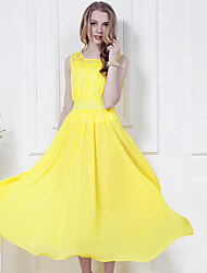 Women's Dresses , Chiffon OMLI