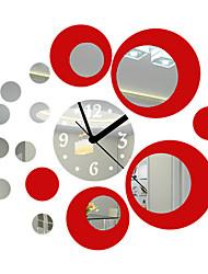 """18"""" Modern Style Mirror Fashion Wall Clock"""