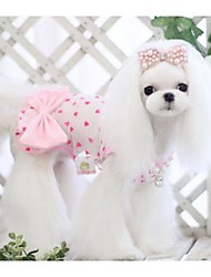 Animal belle robe bowknot perspective pour Animaux Chiens (Assortiment de couleurs, tailles)