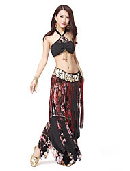 Dancewear Women's Long Tassels Coin Multi-color Belly Dance Belt(More Colors)