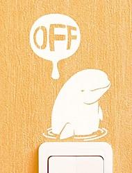 Animals  The Polar Bear Switch Sticker Wall Stickers