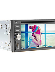 6.2Inch 2 Din Universal Car DVD Player with GPS,IPOD,RDS,BT,Touch Screen,TV