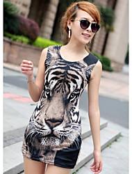 Frauen Sexy Korean Hip-Paket Minikleid