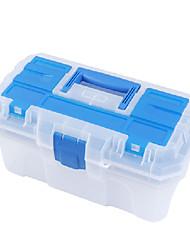 (41 * 23 * 20,5) plástico azul Buckle caixas de ferramentas