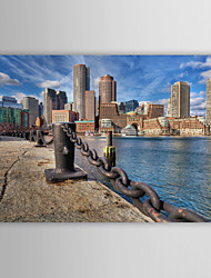 Stretched Canvas Print Art Landscape Boston, USA
