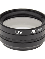 CPL + UV + FLD Filter Set for Camera with Filter Bag (30mm)