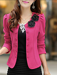 Women's Suits , Cotton Blend Shadow