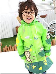 Hugmii Kinder-Mode-Regenmantel Mit Platz Für Schul