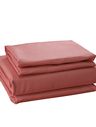 Sheet Set, Microfiber Solid Red