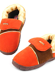 Casual Sólidos lã colorida Deslize Masculina Slipper - 2 Cores Avaliable