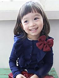 Manteau Style bowknot de fille