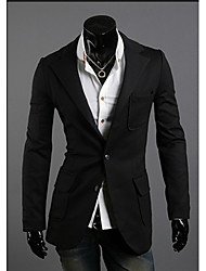 Men's Unique Pocket Design Suit
