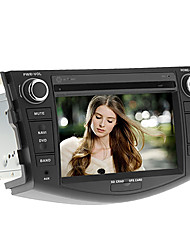 7 polegadas 2 DIN no painel do carro DVD Player para Toyota RAV4 2006-2012 com GPS, BT, IPOD, RDS, FM, TV