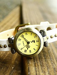 Vintage Antica Roma Rivet in pelle di vitello Watch Hebe donne