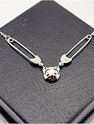 MISS U Women's Korean Fashion Cute Panda Pendant Necklace