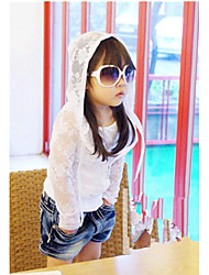 Girl's Lace Sweater & Cardigan , All Seasons Long Sleeve