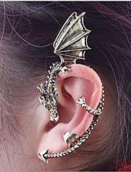 Punhos da orelha Personalizado Liga Dragão Prata Dourado Jóias Para Festa Diário Casual