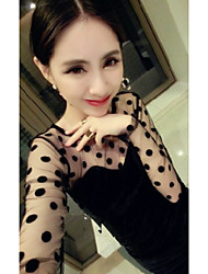 1618 Women's Fashion Mesh Backless Sheath Dress