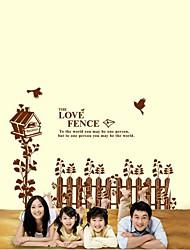 Romanze The Love Zaun Wandsticker