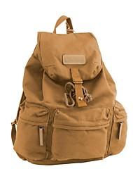CADEN Camera Bag Waterproof Canvas Travel Backpack for Canon Nikon Sony All SDLR Camera - Khaki