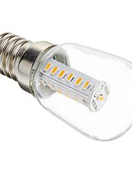 Bombillas LED de Mazorca Decorativa T E14 3W 25 SMD 3014 180-210 LM Blanco Cálido AC 100-240 V