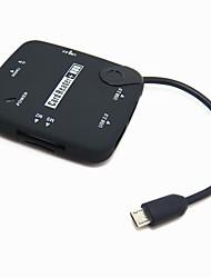 Micro-USB-OTG 3xUSB HUB + Card Reader für Samsung S3 i9300 N7100 i9500 N5100 S4