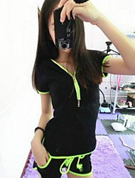 CoolCube Frauen Sport-Solid Color beiläufige Klage
