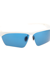 Moda Cómodo Cómodo MP3 Bluetooth inteligente Glasses (Blanco)
