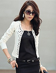 Women's Coats & Jackets , Cotton Blend Casual Shozilan