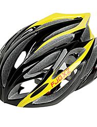FJQXZ интегрального-формованные EPS + PC Желтые Велоспорт Шлемы (21 Вентс)