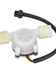 HS01 precisa PVC de fluxo de água Salão Sensor Medidor de Vazão / Contador