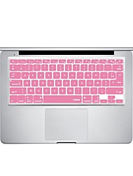 Pink Silicon Laptop Keyboard Skin Cover for MacBook PRO MacBook Air French Language Layout