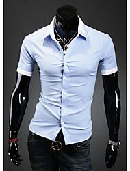 HF Мужская Основные рубашка с коротким рукавом 9063