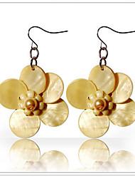 Ginasy Blossom Shell Earring