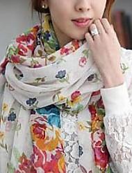 Женская Сельский зеленый шарф