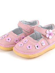 Chaussures bébé - Noir / Marron / Blanc / Marine - Habillé / Décontracté - Cuir - Plates