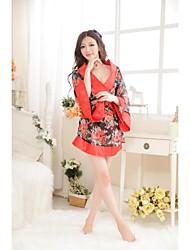 Belle Ultra sexy mignon Kimono Fleur lingerie sexy de femme