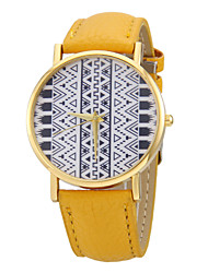 Women's Totem Pattern PU Band Quartz Wrist Watch (Assorted Colors)  Cool Watches Unique Watches
