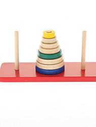 coloridos de madeira anéis de contagem